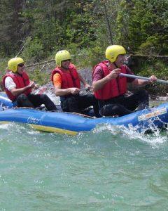 Teamevent Kanutour auf der Isar, Kanu fahren in Bayern