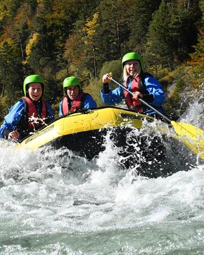 Teamevent Power Rafting Bayern