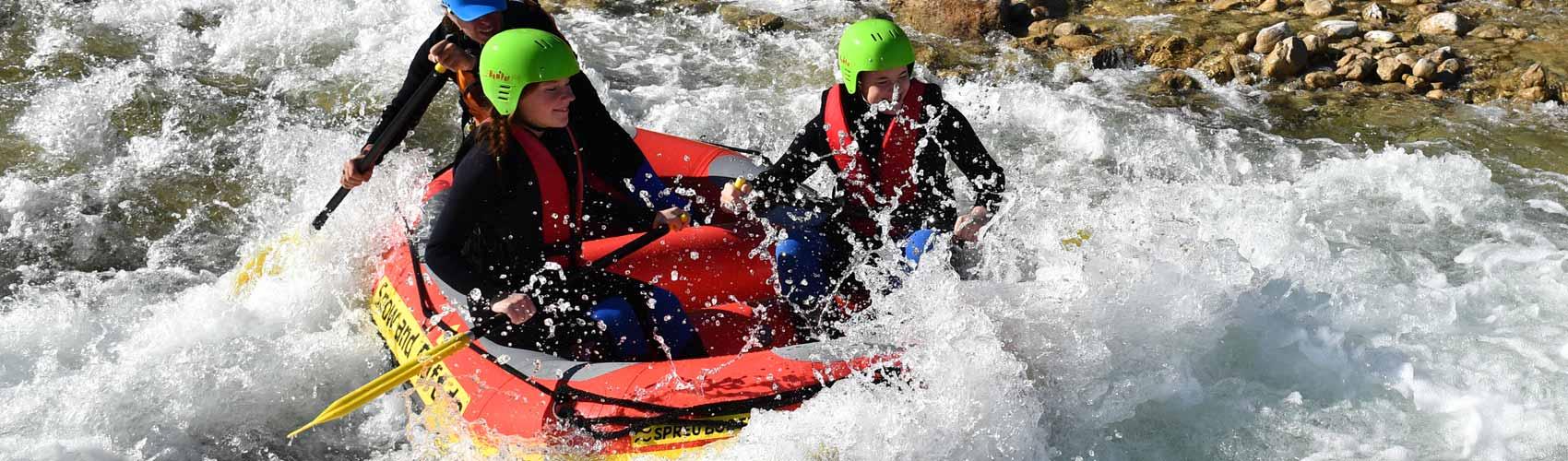 Rafting München Junggesellenabschied, die JGA easy Action nicht nur für Männer