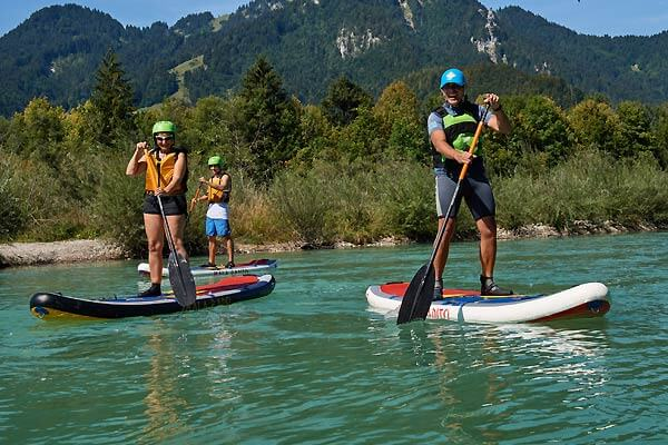 Stand up Paddling in Bayern