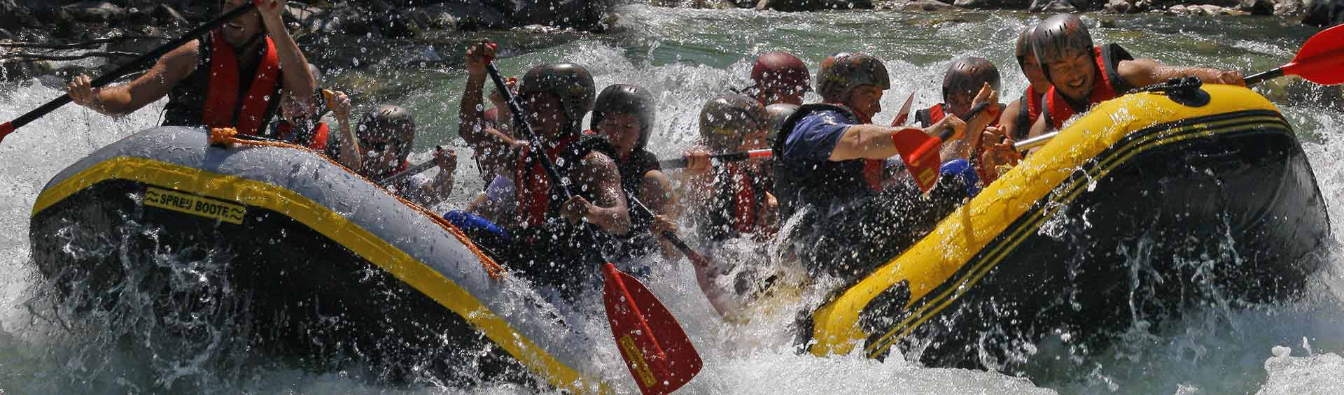 Doppel Raftingtour, Imster und Ötztaler Ache, Wildwasser extrem in Österreich, Ötztal Rafting