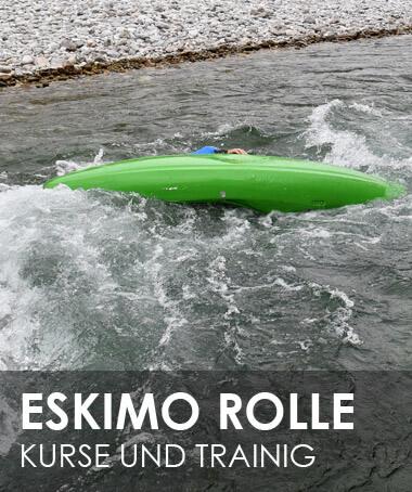 Kajak Eskimo Rolle