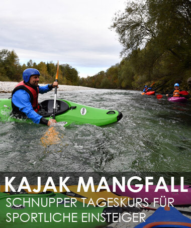Kajak Mangfall bei München