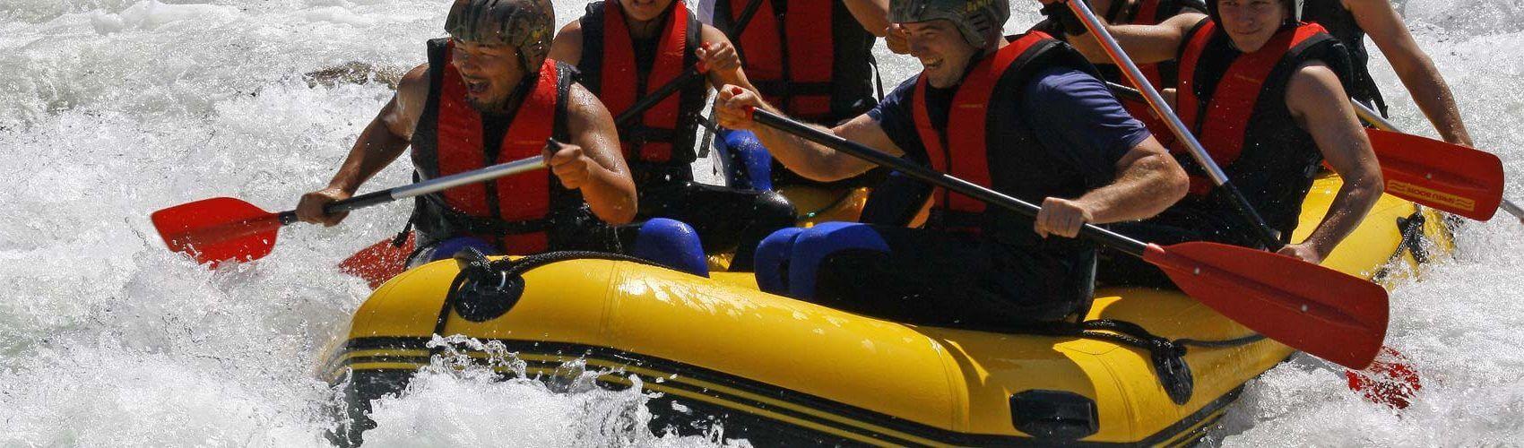 Isar Rafting - Bootstour mit dem Schlauchboot ab Lenggries bei Bad Tölz in Bayern, Isar Rafting buchen